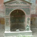 Pompeji - vodnjak v vili
