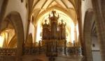 Gotske orgle v cerkvi Gospe Svete