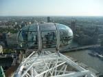 Pogled z London Eye