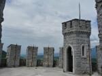 Grad  Rihemberk - na vrhu stolpa