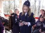 Sprevodnica na otroškem vlaku
