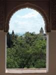 Alhambra pogled iz palače