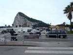 Mejni prehod med Španijo in Gibraltarjem