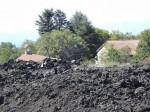 Etna, posledice izbruha leta 2003
