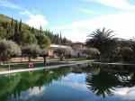 Pogled iz najinega bungalova na kmečkem turizmu Il Drago